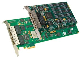 Diva V-4PRI/E1 PCIe HS Bundle with 120 Modem