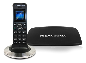 DC201 DECT Phone with base station