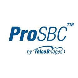 TelcoBridges' ProSBC Virtual SBC